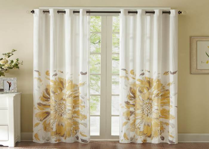 Luxury Cotton Curtains Dubai